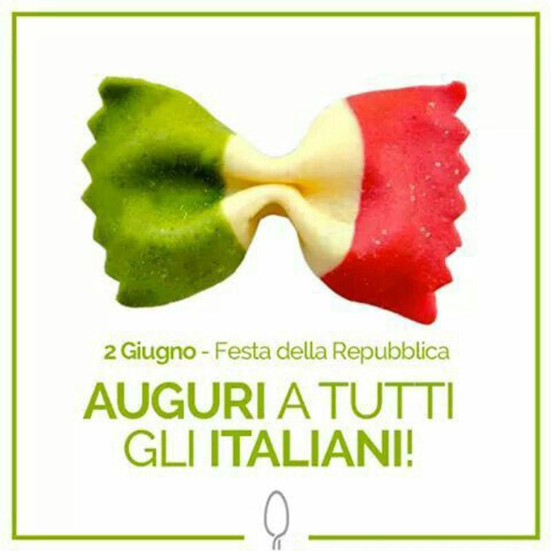 Auguri a tutti gli italiani Festa della Repubblica