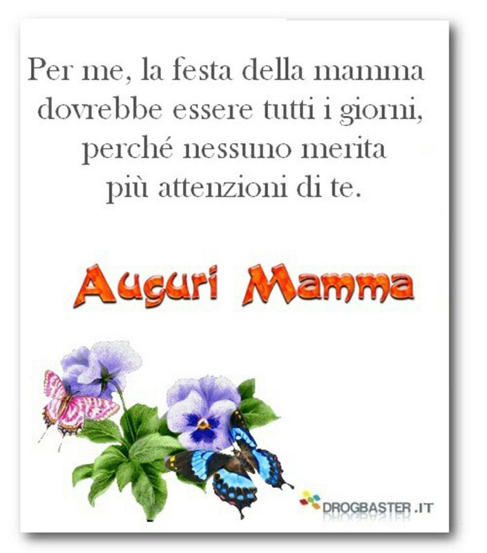 Belle frasi per Auguri Mamma