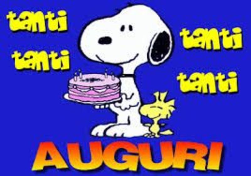 Buon Compleanno Snoopy 2 Bellissimeimmagini It