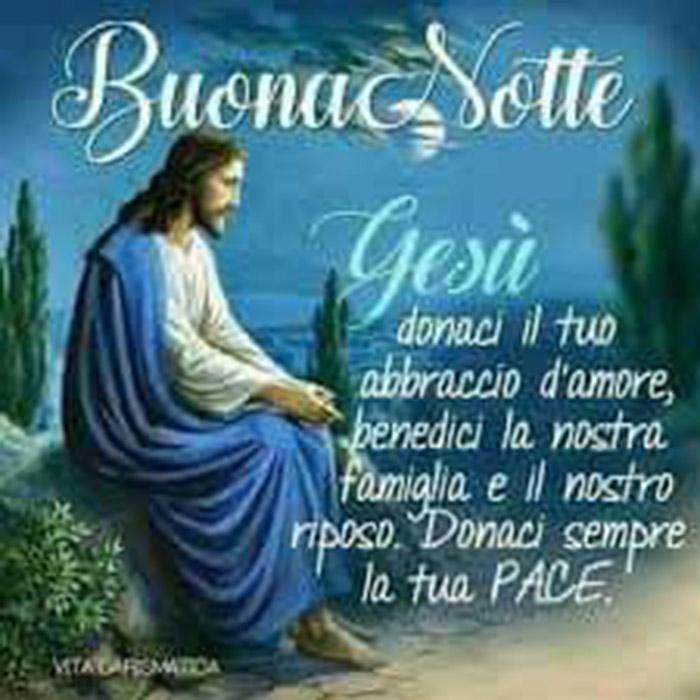 Buonanotte Gesù con Preghiera