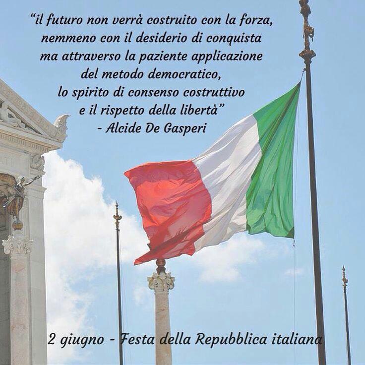 Frasi bellissime per Festa della Repubblica