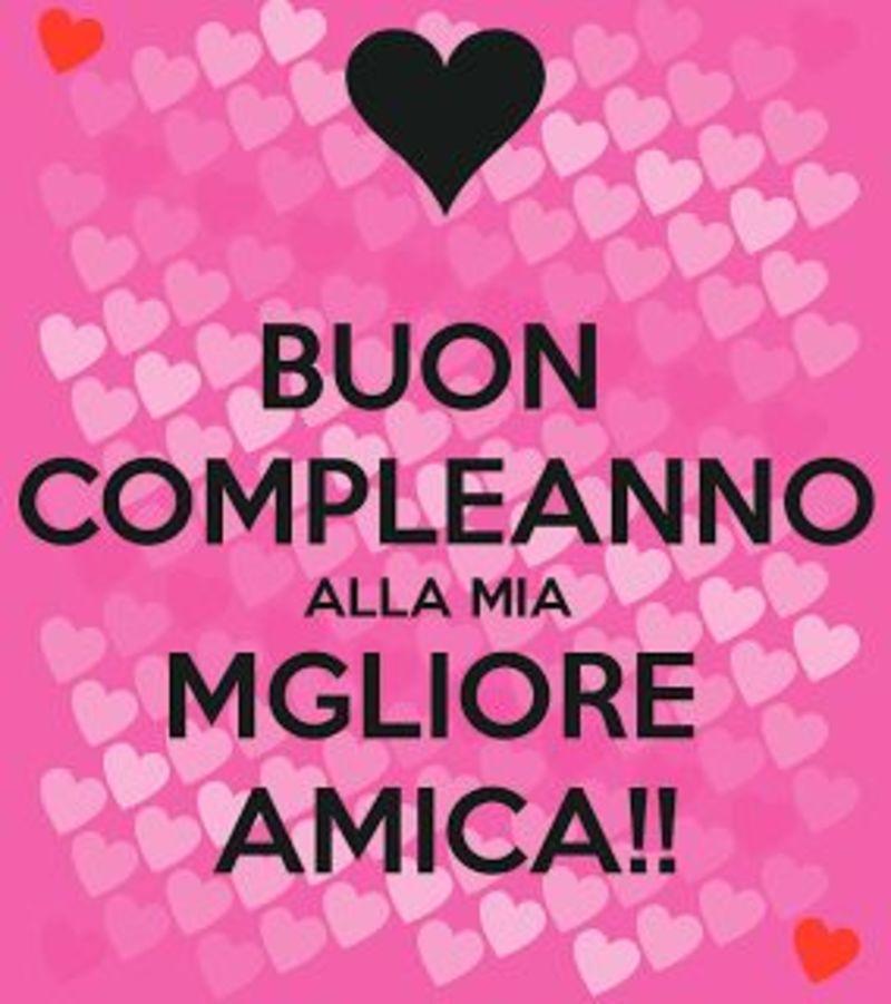Immagini Frasi Buon Compleanno Amica Mia 3 Bellissimeimmagini It