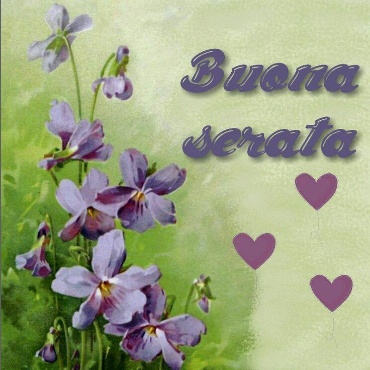Immagini buona serata con bellissimi fiori
