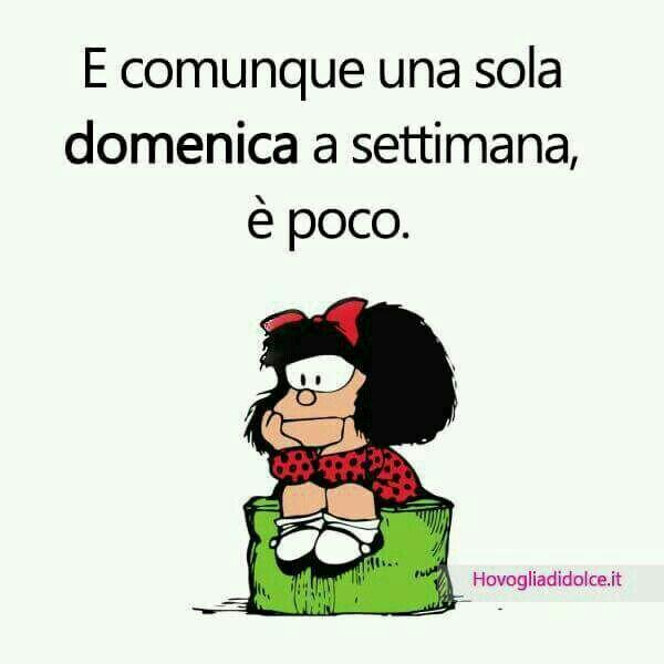 Immagini frasi divertenti con Mafalda da mandare