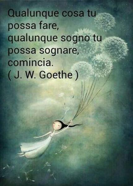 Le più belle citazioni di J W Goethe