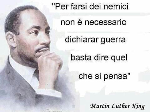 Le più belle citazioni di Martin Luther King per farsi dei nemici