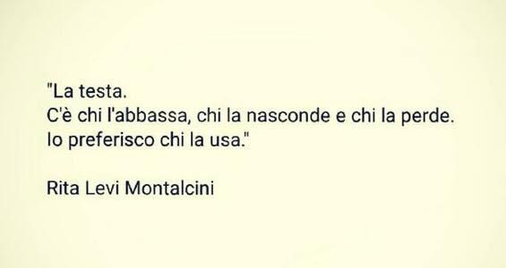 Le più belle citazioni di Rita Levi Montalcini la testa