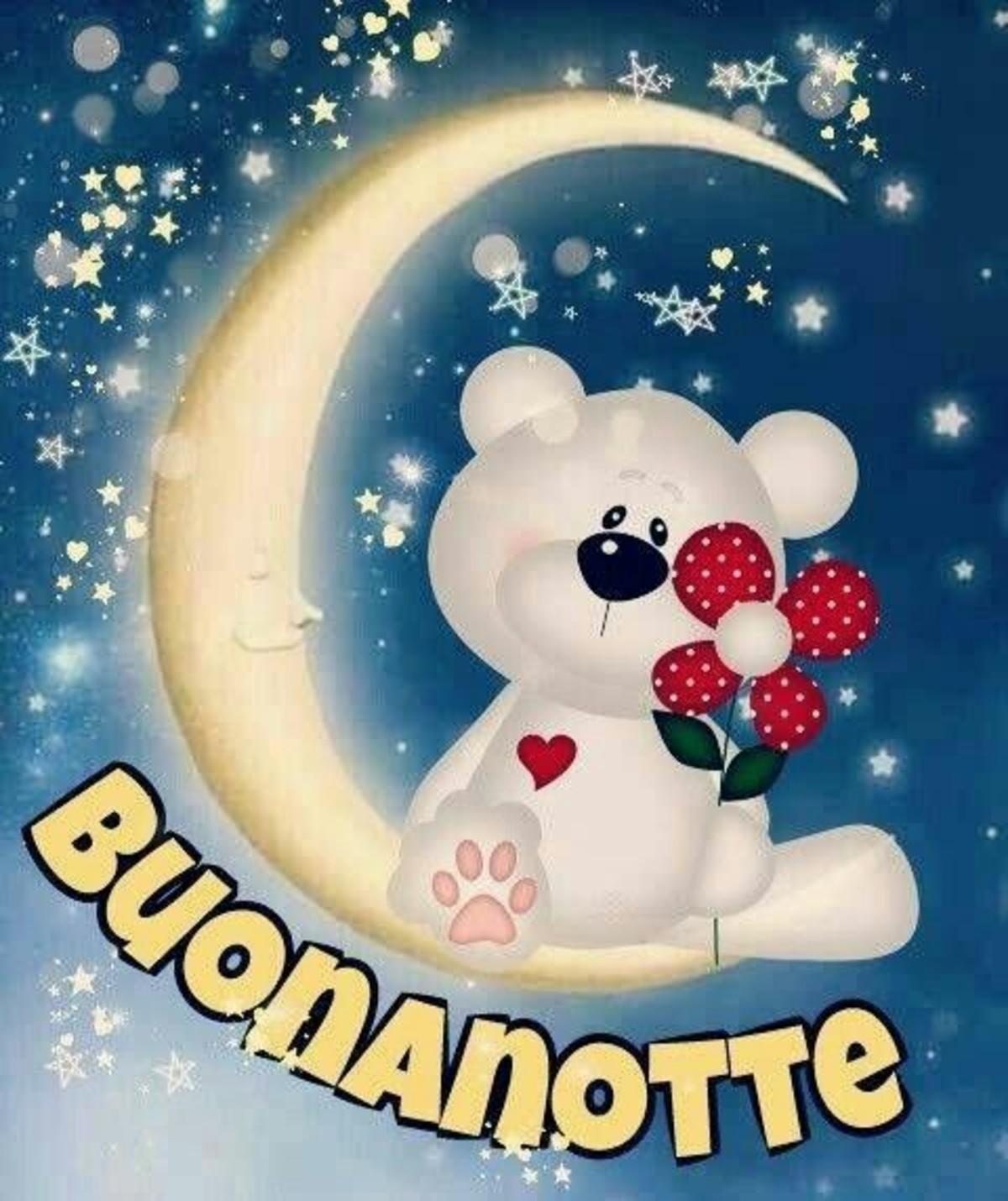Buonanotte Immagini Con Orsetti Orsacchiotti