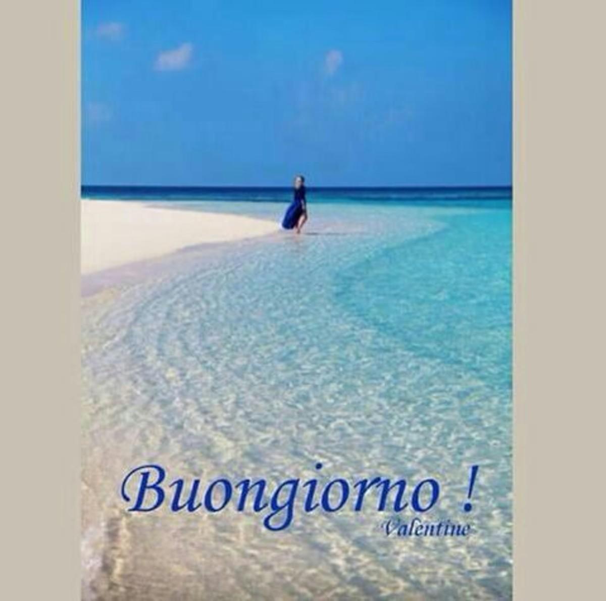 Buongiorno Immagini con la spiaggia estate (5)