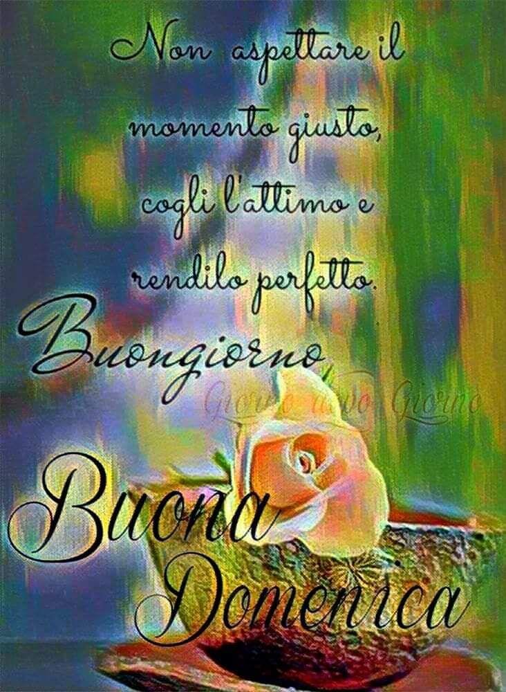 Buongiorno E Buona Domenica Con Frase Bellissima