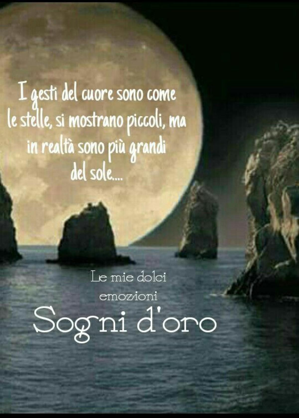 Immagini Buonanotte Luna Tramonto 2 Bellissimeimmagini It