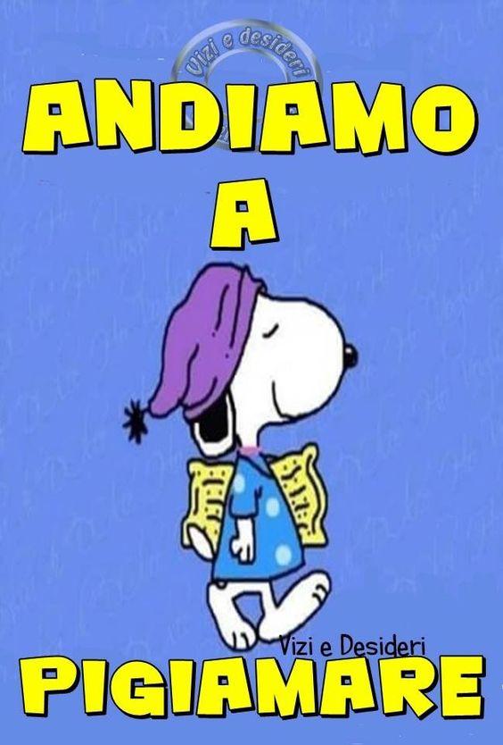 Immagini Frasi Buonanotte Con Snoopy Bellissimeimmagini It