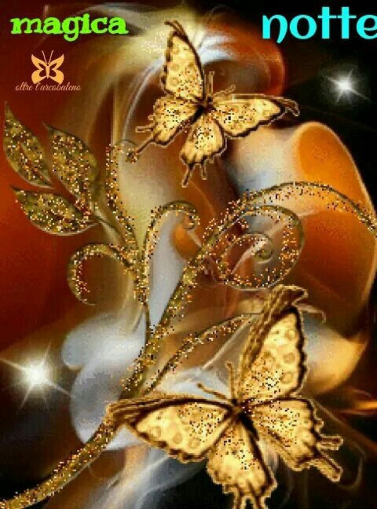 Immagini Della Buonanotte Con Le Farfalle 3