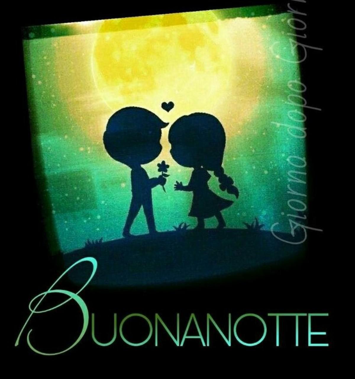 Immagini romantiche Buonanotte 2756