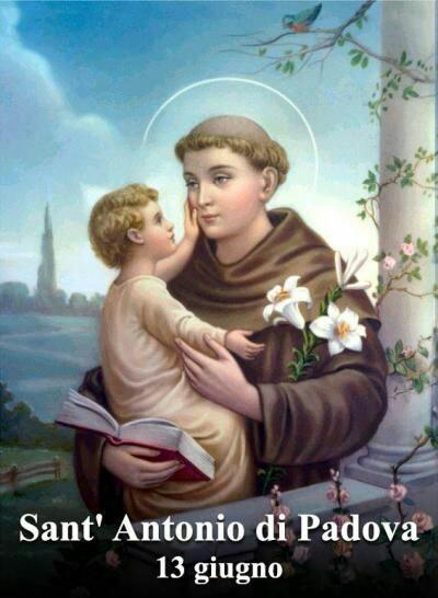 Sant'Antonio da Padova 13 Giugno