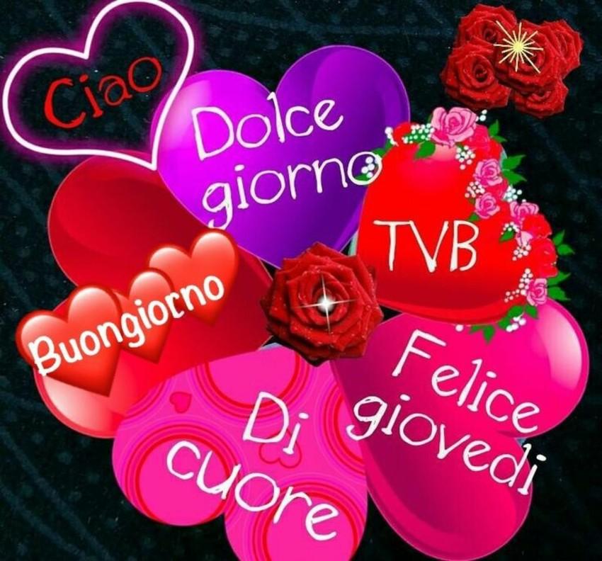 Buon Giovedì amore 1