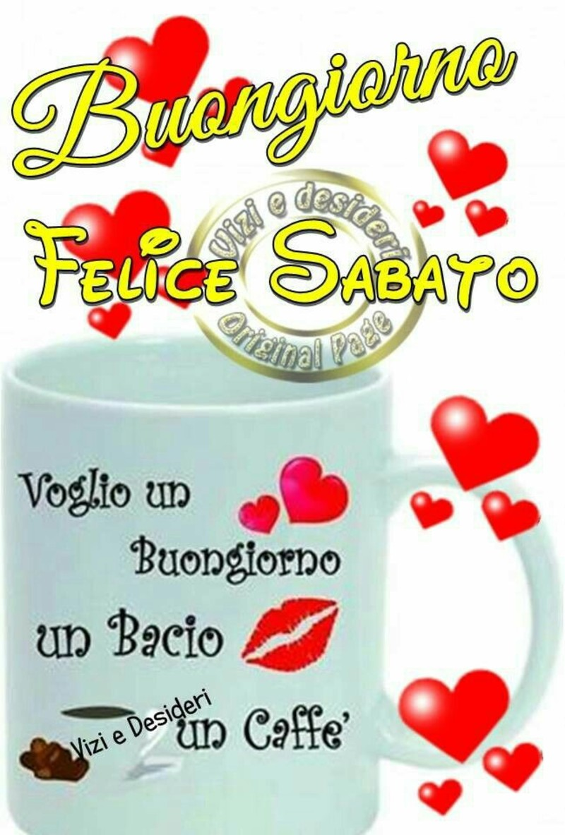 Buon Sabato Con Caffè Immagini Bellissime 2