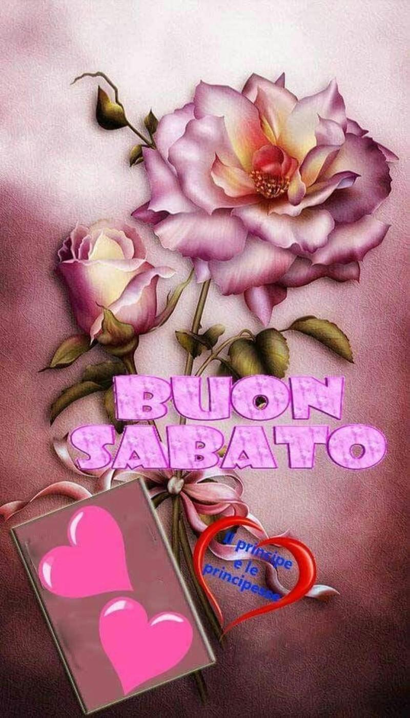 Buon Sabato immagini con i fiori (3)