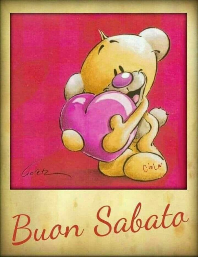Buon Sabato immagini tenere con orsacchiotti (3)
