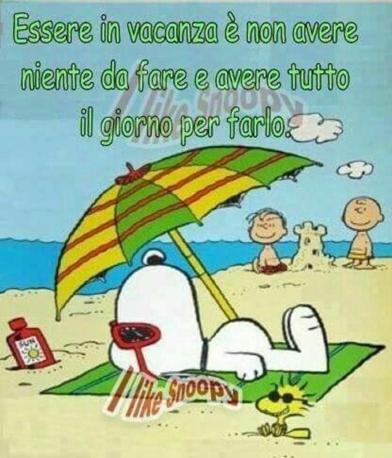 Snoopy Buon Ferragosto Frasi Immagini Bellissimeimmagini It