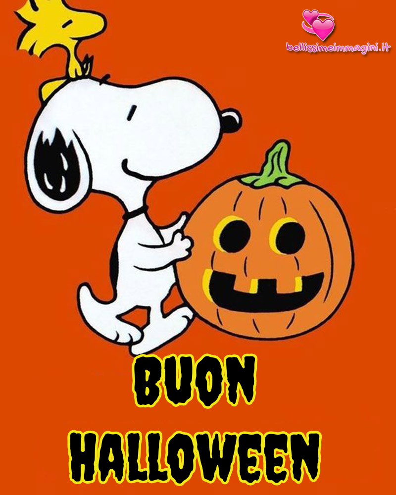 Buon Halloween Snoopy Bellissime Immagini Nuove