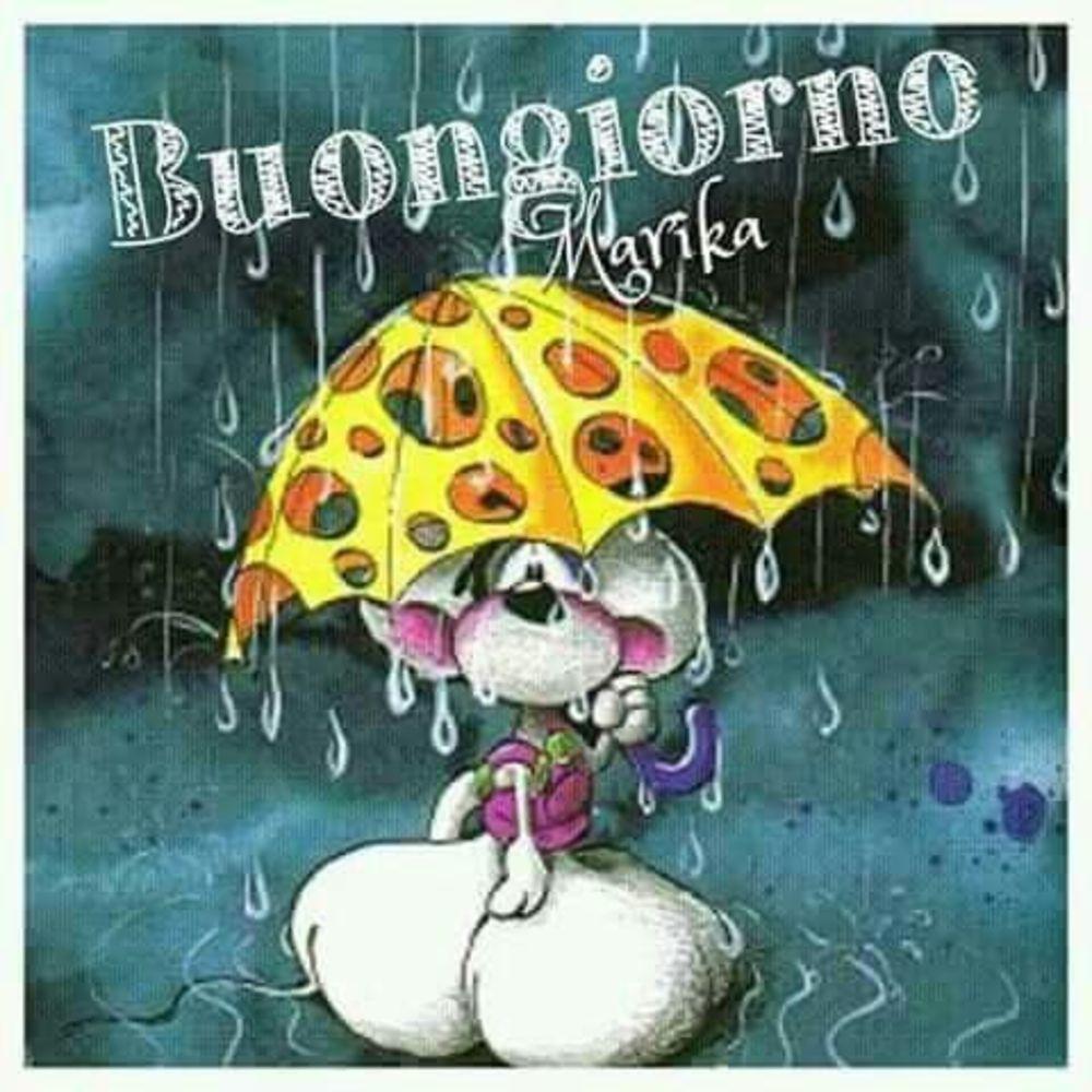Piove Buongiorno belle immagini 6006