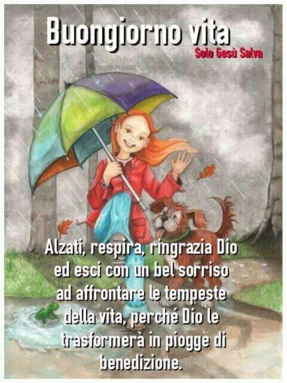 Piove Buongiorno immagini bellissime 483