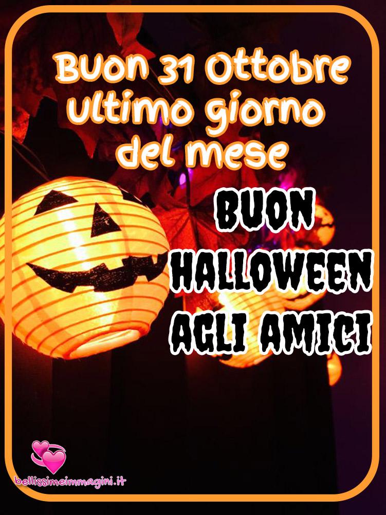 Ultimo giorno di Ottobre Buon Halloween immagini WhatsApp