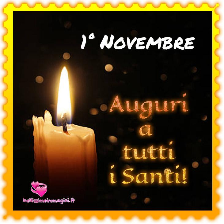 1 Novembre Auguri a Tutti i Santi immagini nuove