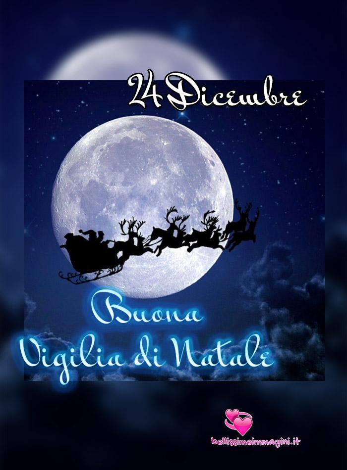 24 Dicembre Buona Vigilia di Natale immagini nuove