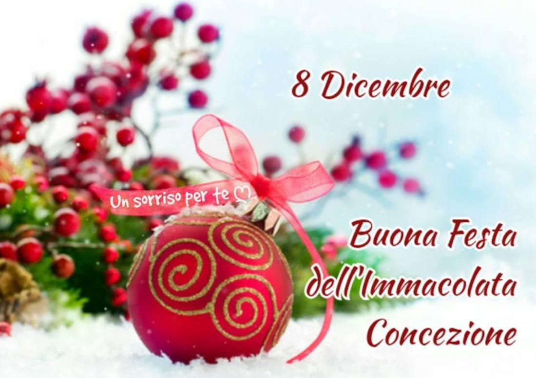 8 Dicembre Buona Festa a tutti