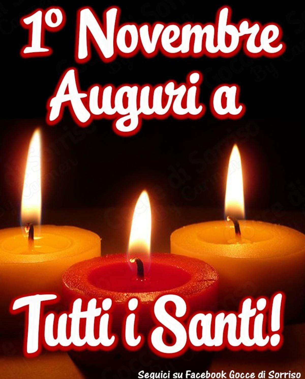 Auguri Festa di tutti i Santi