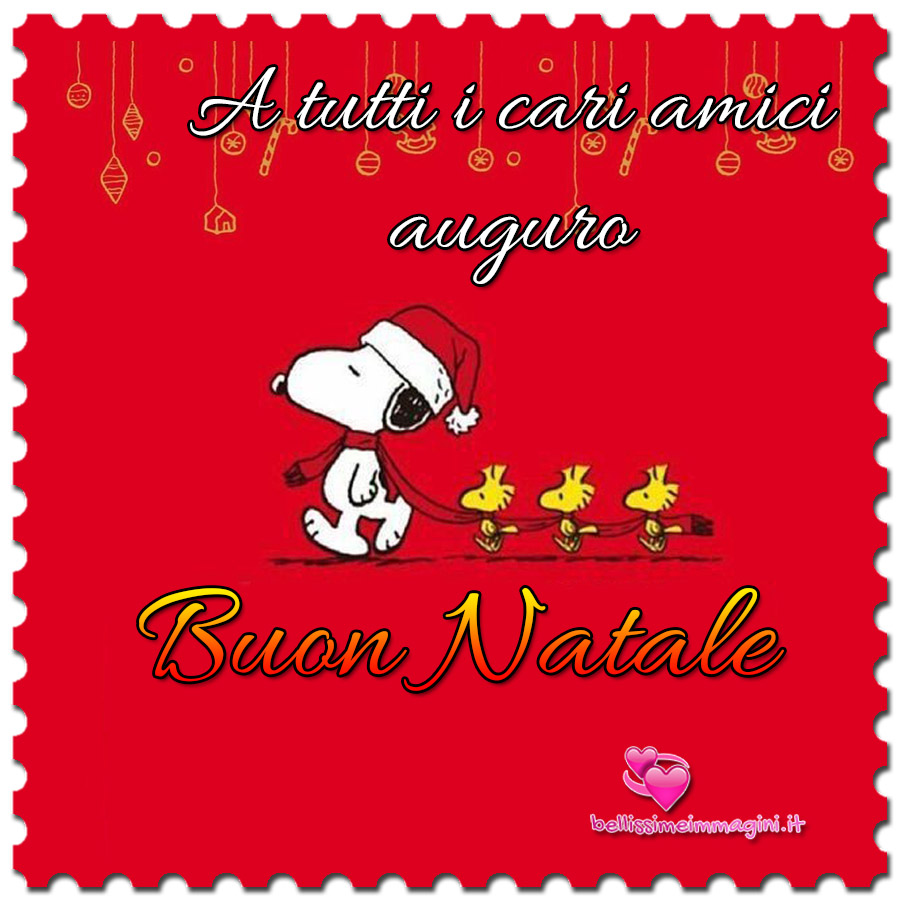 Buon Natale a tutti gli amici immagini nuove