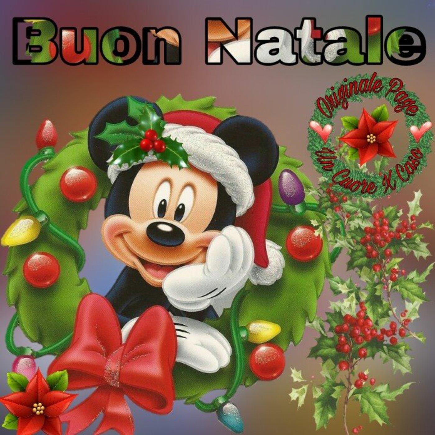 Immagini Buon Natale Disney.Buon Natale Immagini Disney Bellissimeimmagini It