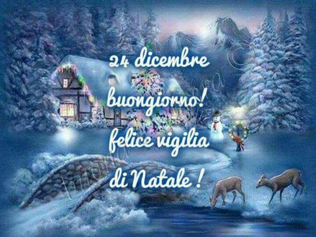 Buona Vigilia di Natale 24 Dicembre WhatsApp 2