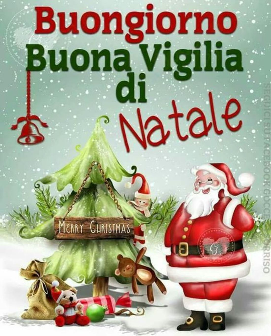 Frasi Buongiorno Vigilia Di Natale.Buona Vigilia Di Natale 24 Dicembre Whatsapp Bellissimeimmagini It