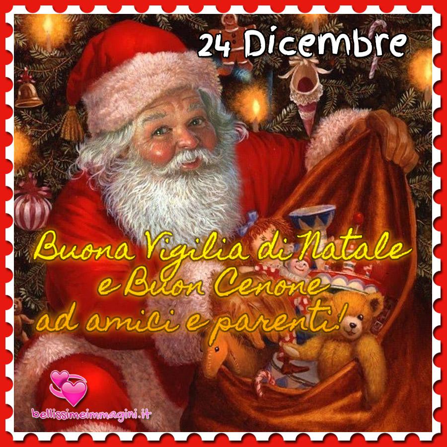 Buona Vigilia di Natale e Buon Cenone immagini nuove Natale