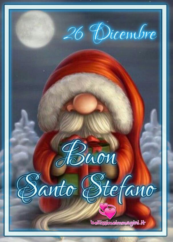 26 Dicembre Buon Santo Stefano bellissime immagini