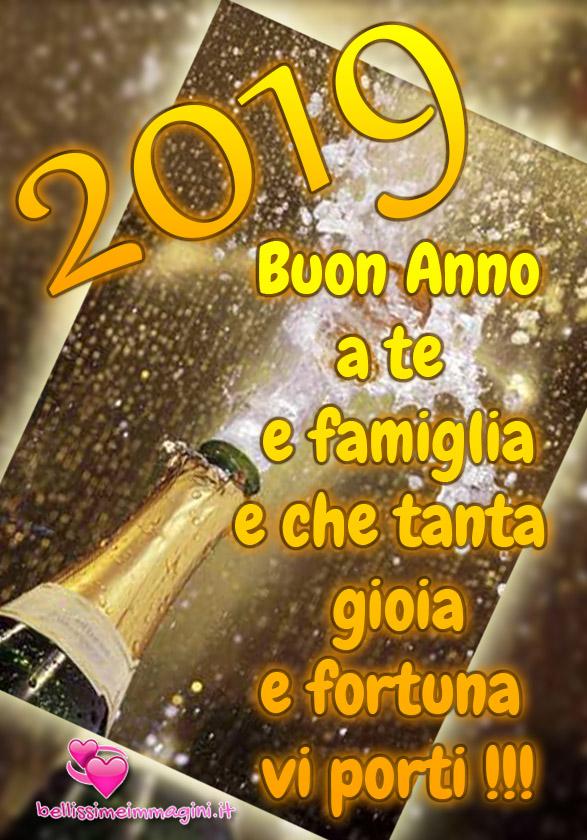 Buon Anno Nuovo 2019 immagini da mandare su Facebook