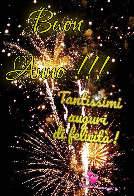 Buon Anno Nuovo tantissimi auguri immagini bellissime