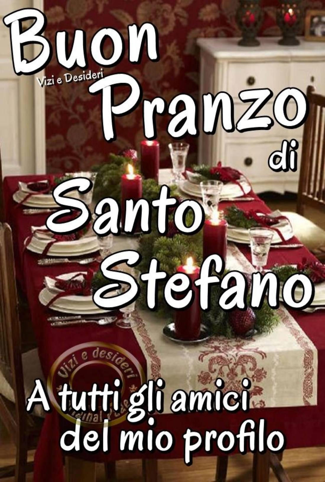 Buon Pranzo di Santo Stefano