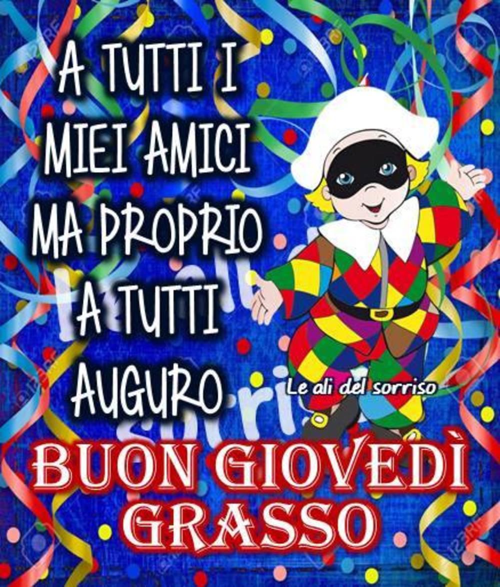 Buon Giovedì Grasso per Facebook