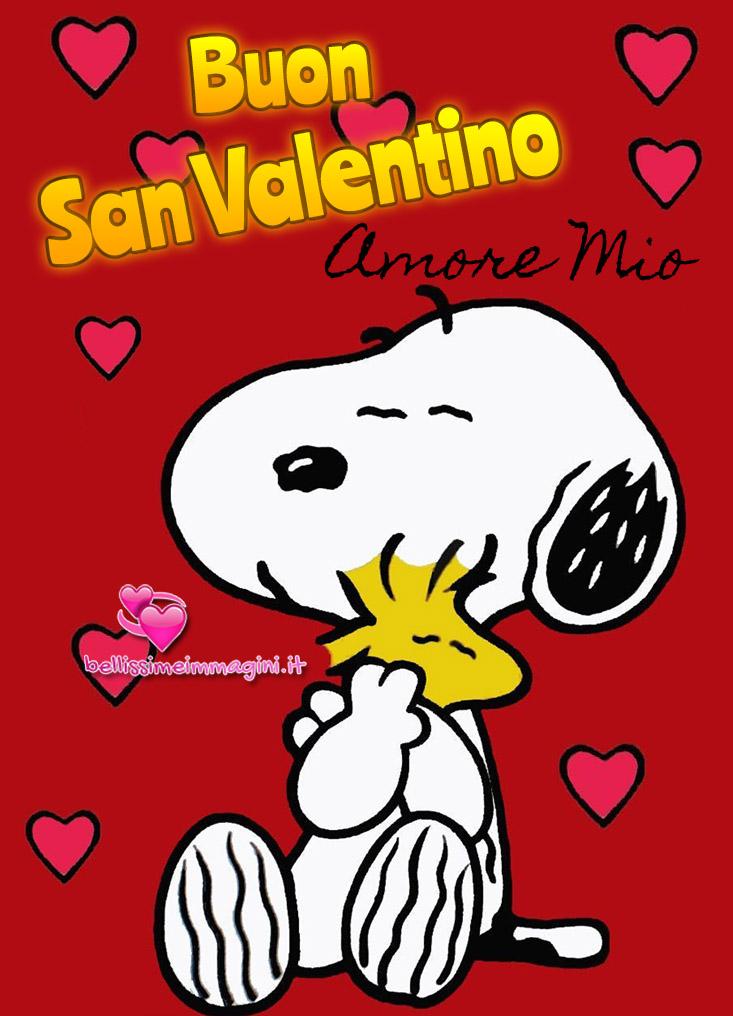 Buon San Valentino amore mio immagini nuove