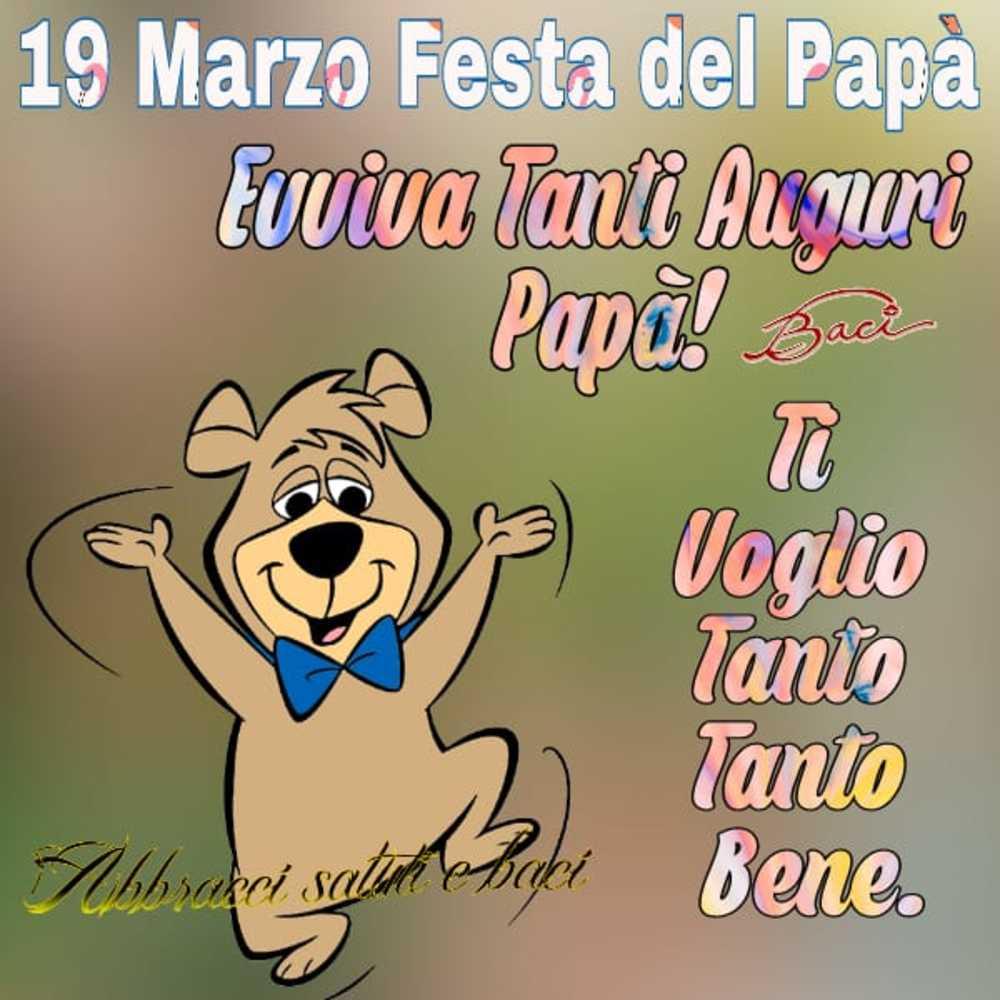 19 Marzo Festa del papà belle immagini