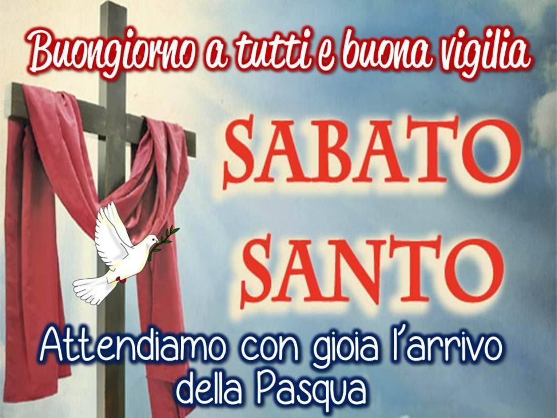 Buon Sabato Santo immagini