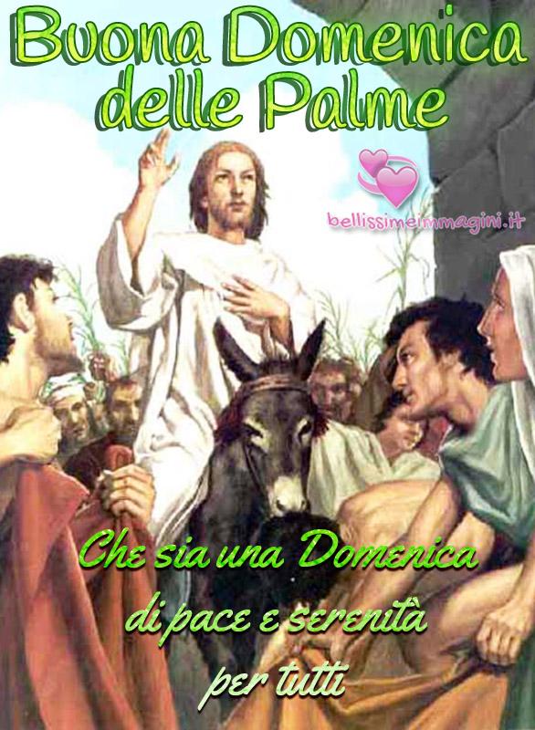 Buona Domenica delle Palme immagini nuove