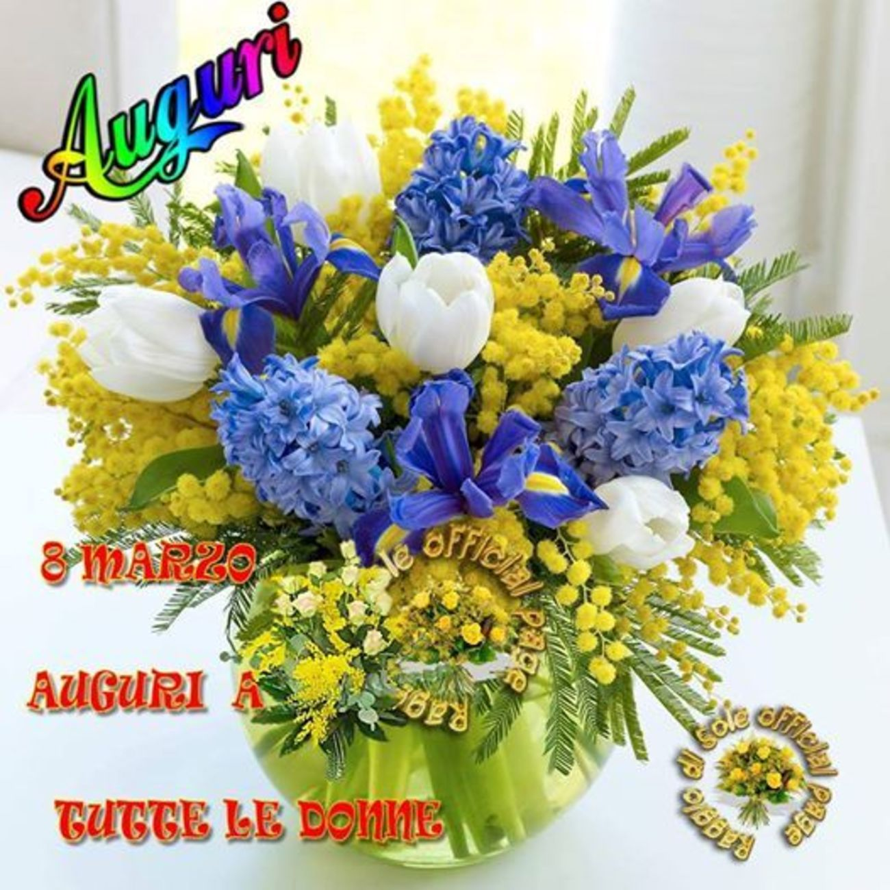 Buona Festa Della Donna Auguri Gratis Bellissimeimmaginiit