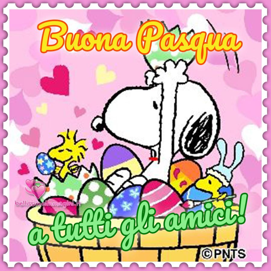 Buona Pasqua Snoopy
