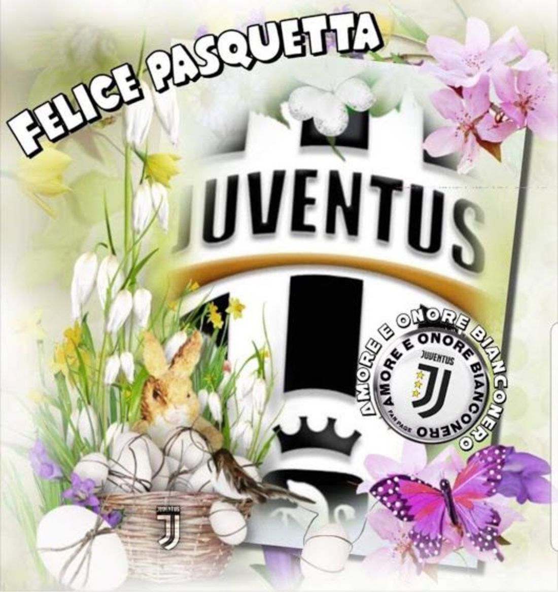Buona Pasquetta Juventus