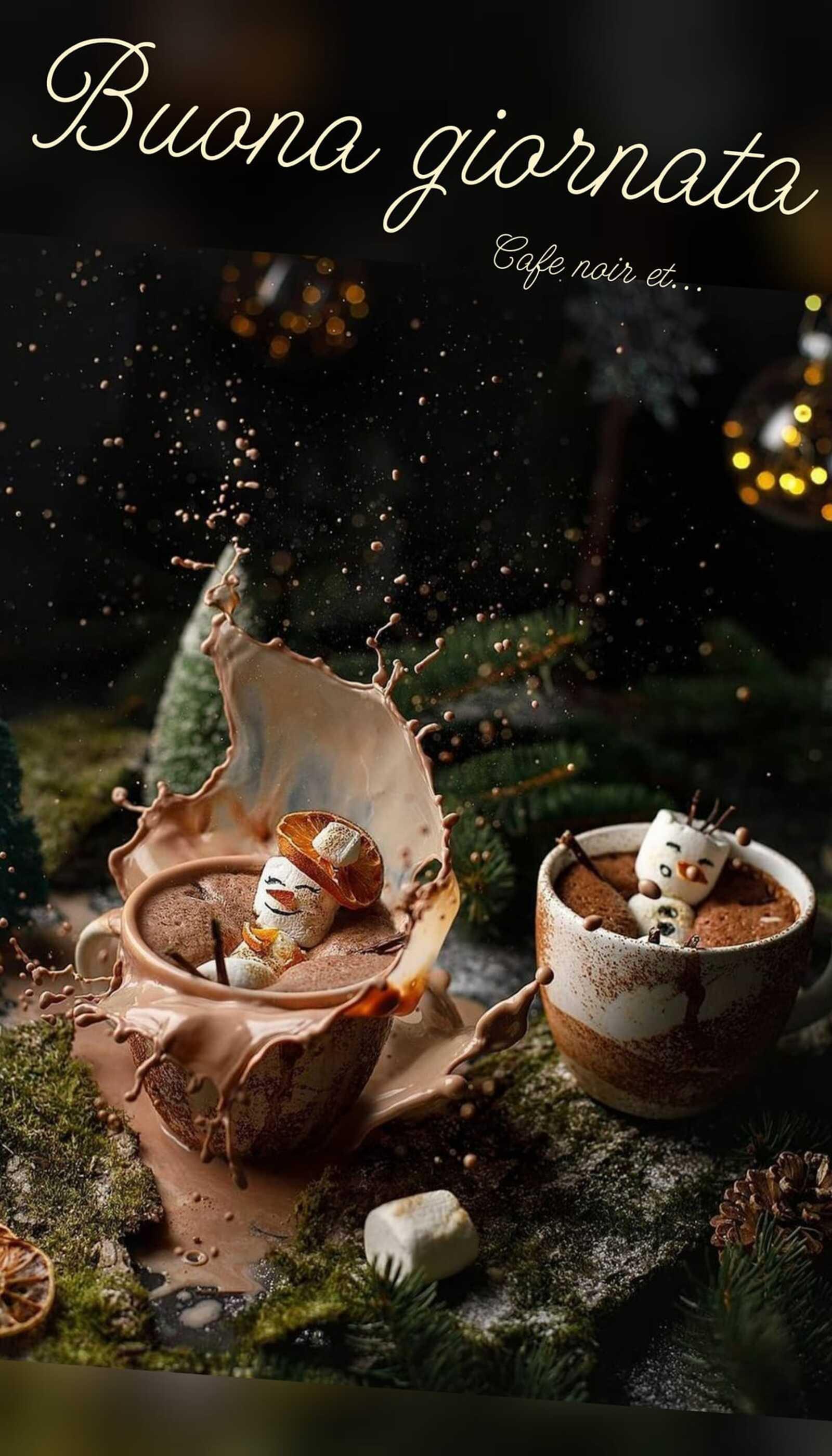 Buona Giornata il Natale è vicino
